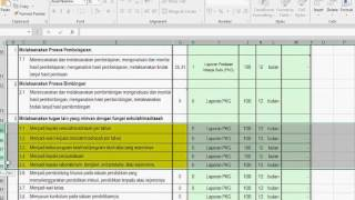 Pengisian Format SKP Sasaran Kerja Pegawai Untuk Guru