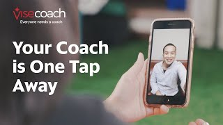 Visecoach, Your Coach is One Tap Away