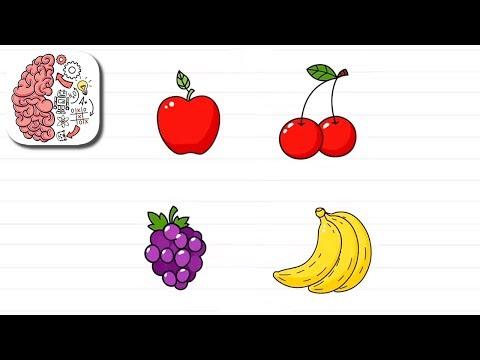 Как пройти Brain Test 114 уровень Нажми на фрукты в определенном порядке.