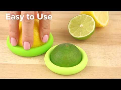 Juego 6 tapas silicona pequeñas  Food Huggers