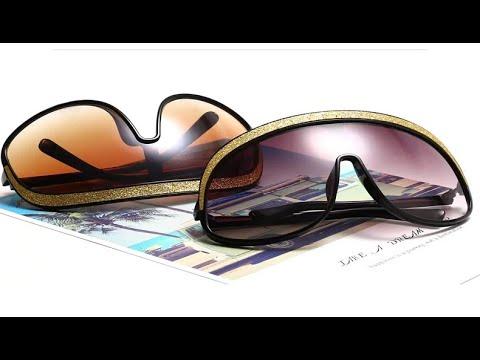 Женские солнцезащитные очки больших размеров роскошные цельные градиентные UV400 Oculos Feminino
