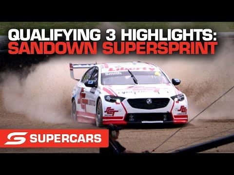 SUPERCARS 2021 Sandown スーパースプリント 予選ハイライト動画