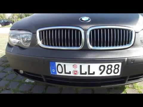 BMW Komplett folieren beklebt mit Struktur Carbon Folie schwarz Oldenburg