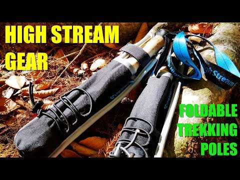 The Best Foldable Light Weight Hiking Poles? – High Stream Gear Collapsable Trekking Poles