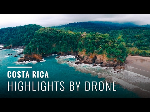 Video Best Beaches in Costa Rica (Drone Highlights)