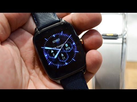 Asus ZenWatch 2 Hands-On! (IFA 2015)