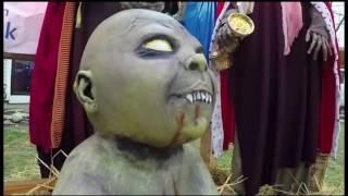 Vandals get hands on controversial Zombie Nativity Scene