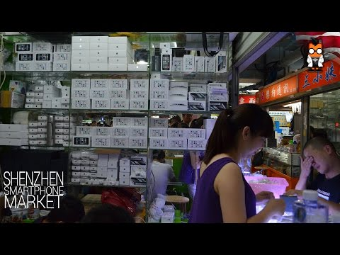 Shenzhen Smartphone Market Walk Through