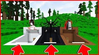 Minecraft : BẠN SẼ CHỌN CĂN HẦM NÀO ? (JEFF THE KILLER, SLENDERMAN, GRANNY)   MK Gaming