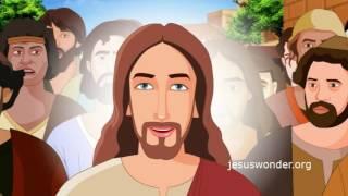 Bible stories for kids - Zacchaeus ( Jesus Cartoon Animation in Hindi )