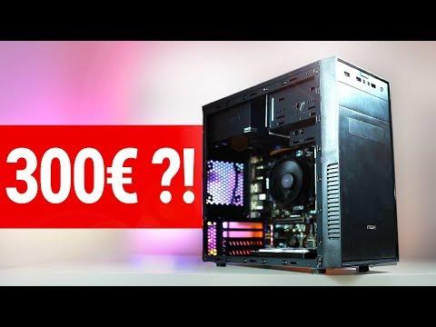 300€ Euro GAMING PC 2018 - Ein Budget Monster!