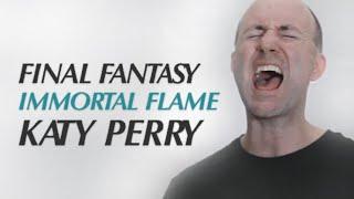 【男性が歌う】Katy Perry / Immortal Flame |「ファイナルファンタジー ブレイブエクスヴィアス」主題歌 | Cover by スティーブ・ピーク (歌詞・字幕付)
