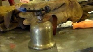 Lenk Gasoline Blowtorch