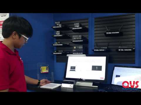QVS Booth Preview – Infocomm 2015 – VW-4PHA Wepresent WIPG-1500
