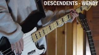 Descendents - Wendy (Bass Cover)