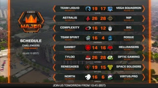 FACEIT Major 2018   Challengers - Day 3