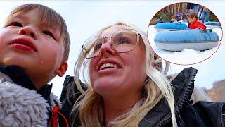 Traumatic Snow Tubing Experience
