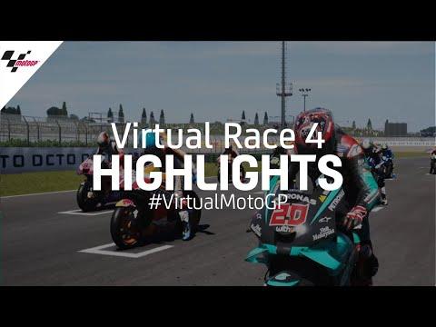 Esports MotoGPバーチャルレース 第4戦(ミサノ)レースハイライト動画