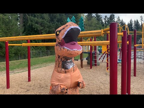 Dinosaur at the Park