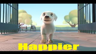 Pip   Happier Music Video Marshmello Happier UNOFFICIAL MUSIC VIDEO Pip Dog Song Animated Film