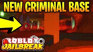 *NEW* SECRET CRIMINAL BASE! Roblox Jailbreak WINTER UPDATE | New Volcano Base | Jailbreak New Update