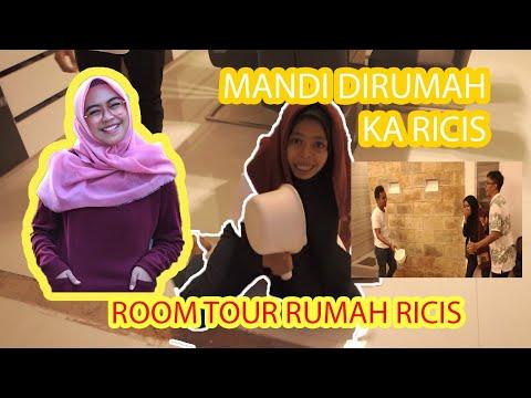 NUMPANG MANDI DI RUMAH RICIS?!! (ROOM TOUR RUMAH RICIS)
