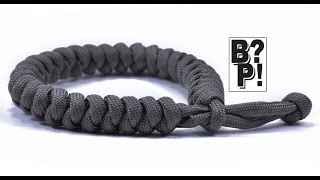 Make The Snake Knot Paracord Bracelet W/ Mad Max Style Closure  - BoredParacord.com