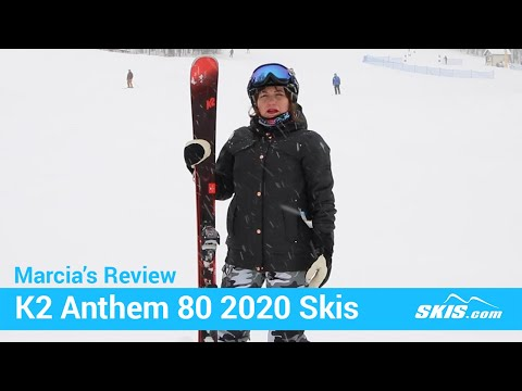 Video: K2 Anthem 80 Skis 2020 14 50