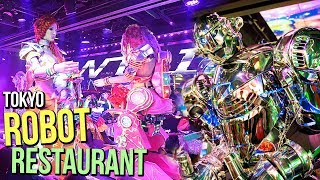 ROBOT RESTAURANT IN TOKYO JAPAN (You Won't Believe This Place Exists!!)