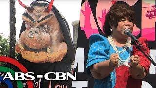 TV Patrol: Ilang grupo, nagprotesta sabay sa paggunita sa Human Rights Day