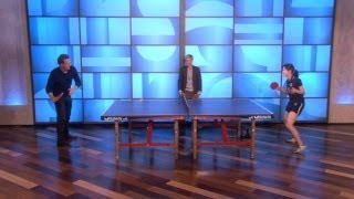 Matthew Perry - Table Tennis with a Twist