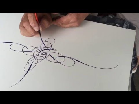 SCROLL STYLE PINSTRIPING MASTERY BY WIZARD Mp3