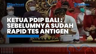 Video Tiup Lilin dan Suap-suapan Acara PDIP Bali, Ketua DPD: Semua Rapid Antigen Hasil Negatif