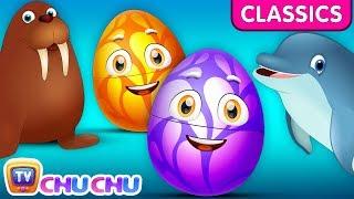 ChuChu TV Classics - Wild Sea Mammals | Surprise Eggs Nursery Rhymes