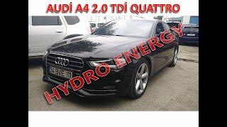 AUDİ A4 2.0 TDİ QUATTRO hidrojen yakıt tasarruf sistem montajı