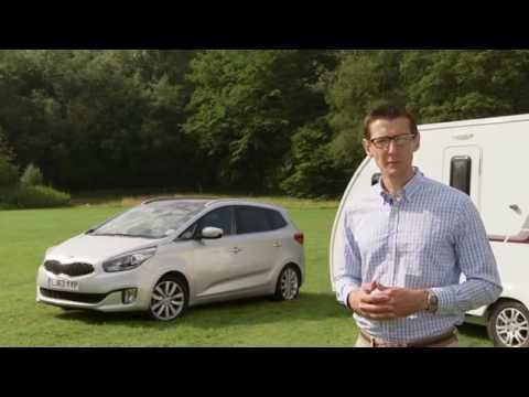 Practical Caravan reviews the Kia Carens