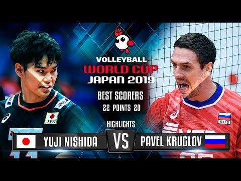 Highlights | Japan vs. Russia | Yuji Nishida vs. Pavel Kruglov | World Cup 2019