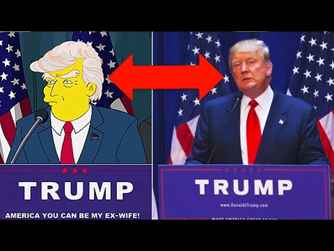 10x kdy Simpsonovi předpověděli budoucnost