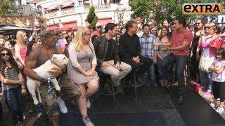Interview de Extra à propos du season final de la saison 7 avec Shemar Moore, Joe Mantegna, Thomas Gibson et Kirsten Vangsness