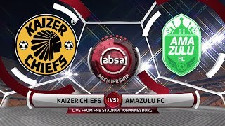 Highlights from the Absa Premiership match between Kaizer Chiefs and AmaZulu FC at the FNB Stadium in Johannesburg