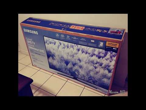 Unboxing Samsung MU6500 Curved TV 2018