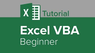 Excel VBA Beginner Tutorial