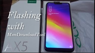 cara flash oppo a3s via msm download tool