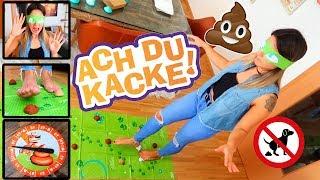 ACH DU KACKE - Wer tritt in den Kackhaufen?! Don't step in it!! | TBATB