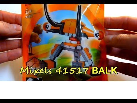 Vidéo LEGO Mixels 41517 : Balk