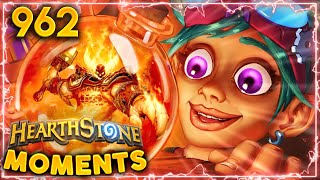 Only SKILLED Hearthstone Players BELIEVE In RNG | Hearthstone Daily Moments Ep.962