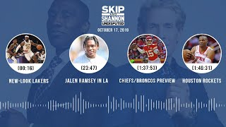 UNDISPUTED Audio Podcast (10.17.19) with Skip Bayless, Shannon Sharpe & Jenny Taft   UNDISPUTED