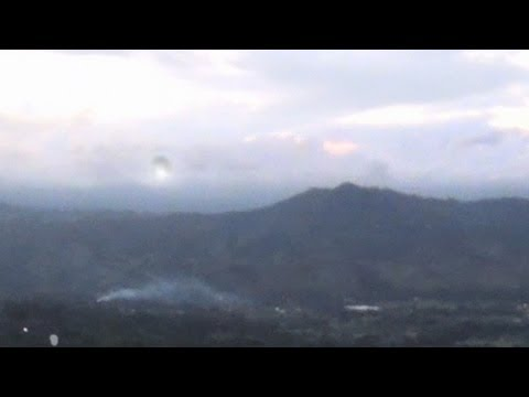 UFO SIGHTING DOMINICAN REPUBLIC SEPTEMBER 2013