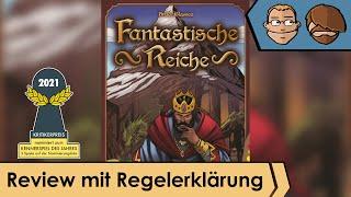 Fantastische Reiche  (nominiert zum Kennerspiel des Jahres 2021) - Review und Regelübersicht