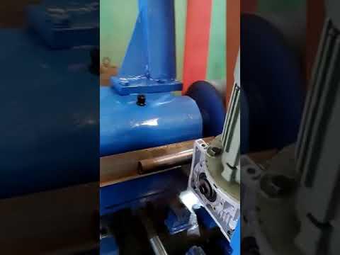 SS Pipe Polishing Machine